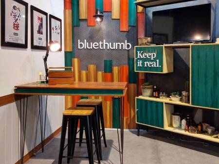 Exhibit Booth Design by Bluethumb Brand Design Agency