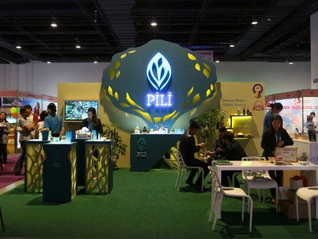 Pili Exhibit Booth Design Philippines by Bluethumb Brand Design Agency